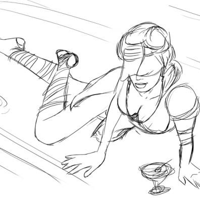Sketch 1 of Alysanda