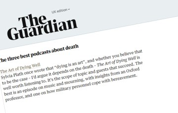 Guardian Accolade for the Art of Dying Well