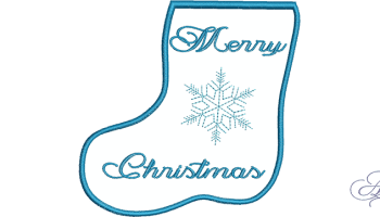 Chevron gift card stocking art of embroidery merry christmas gift card stocking negle Choice Image