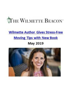 Wilmette Beacon_Wilmette Author Gives Stress Free Moving Tips