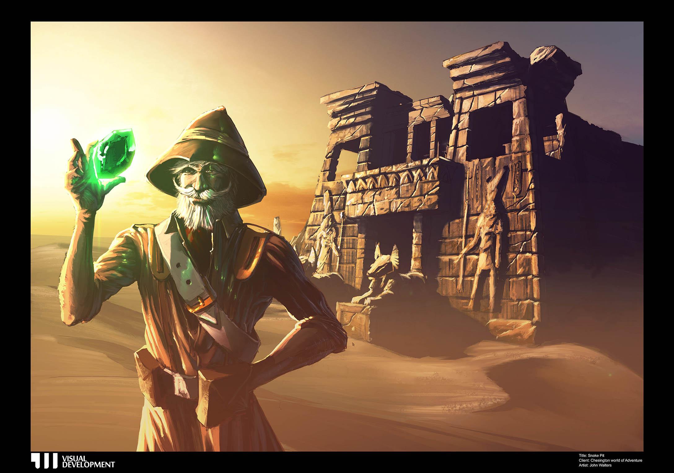 JW Visual Development Terror Tomb Chessington World Of