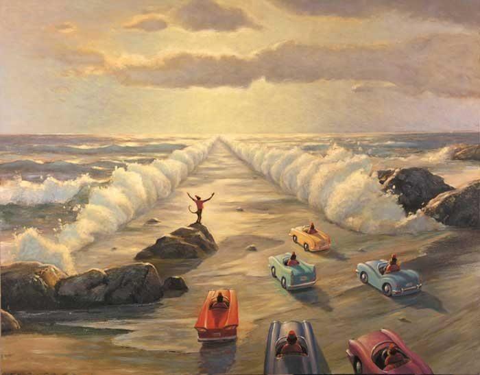 Religion, paintings gallery, Art of Mark Bryan
