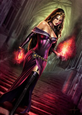 Liliana of the Veil - MtG Planeswalker Art