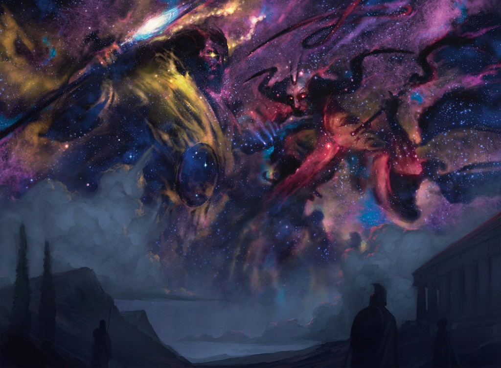 MtG Art Starfield Of Nyx From Magic Origins Set By Tyler