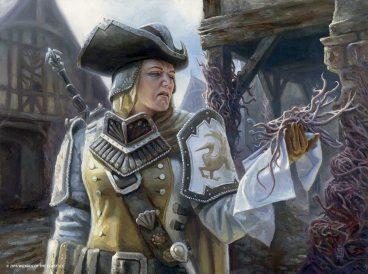 Thraben Inspector - Shadows over Innistrad Art