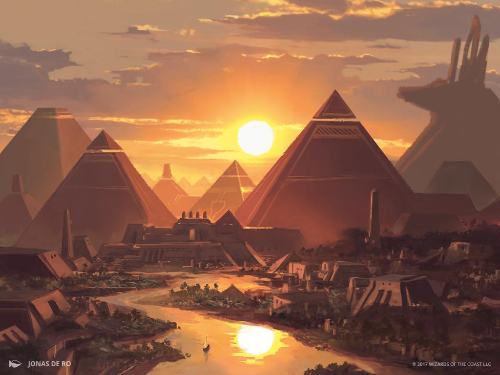 Image result for pyramid art mtg
