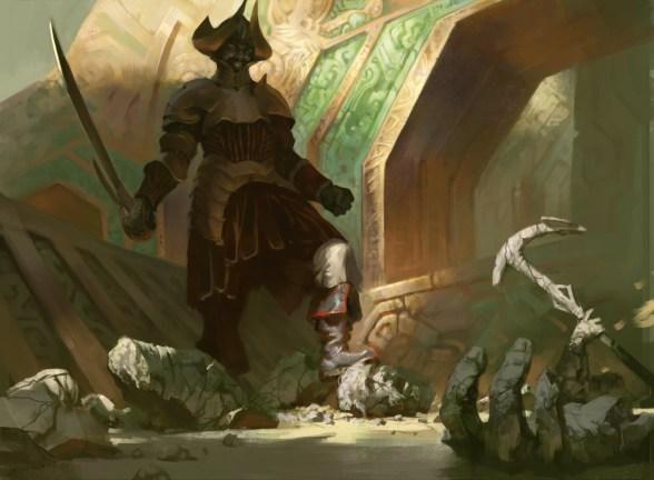 Vraska's Conquistador - Rivals of Ixalan MtG Art