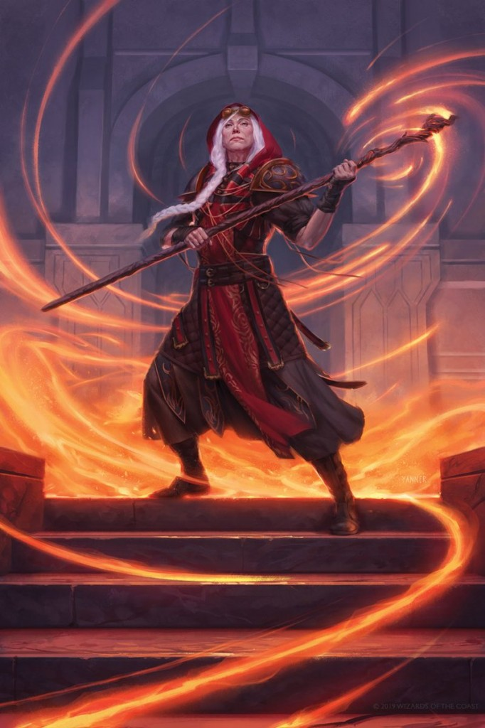 Mtg Art Jaya Ballard Mythic Edition From Ravnica