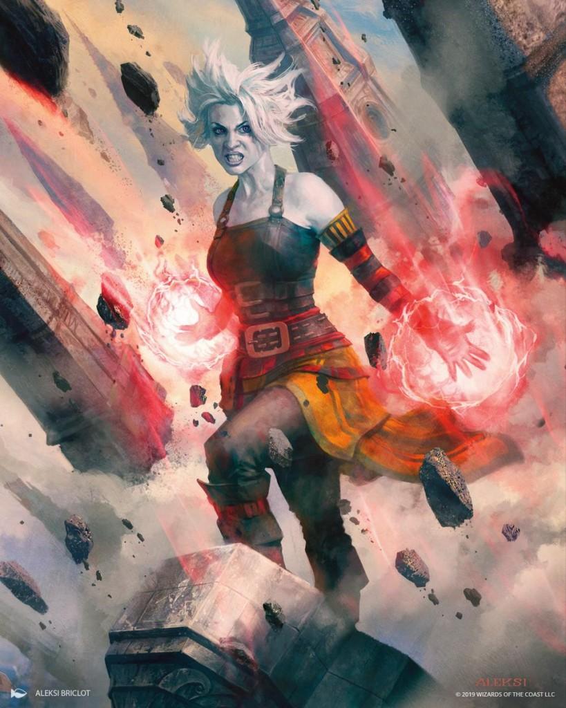 Mtg Art Nahiri Storm Of Stone From War Of The Spark Set