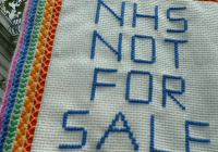 999 Call for the NHS – The People's March – creative tapestry! (Sept 2014)