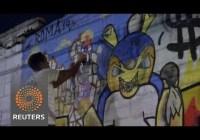 Brazil's graffiti artists protest World Cup, June 2014
