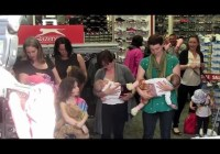 Breastfeeding Protest at Nottingham Sports Direct (May 2014)