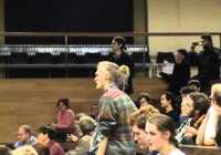 David Willetts forced from lecture hall by student protest. Dec 2011
