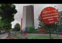 UCL Rent Strike: Hawkridge House (May 2015)