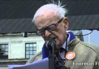 Harry Leslie Smith – Junior Doctors Protest (Oct 2015)