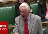 """Dennis Skinner kicked out of Commons for calling David Cameron """"dodgy Dave""""  (April 2016)"""