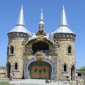 Фасад из бетона в дворцовом стиле