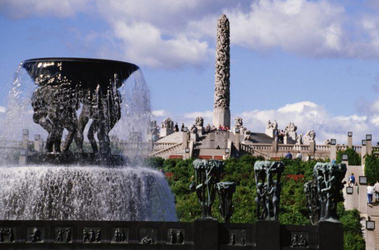 Norway, Oslo, Frogner Sculpture Park