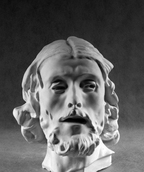 Гипсовая голова Иоанн Креститель