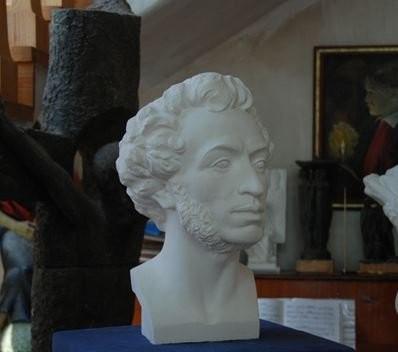 Скульптура Пушкина Портрет скульптурный