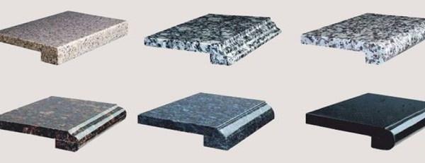 Подоконник из натурального камня 8