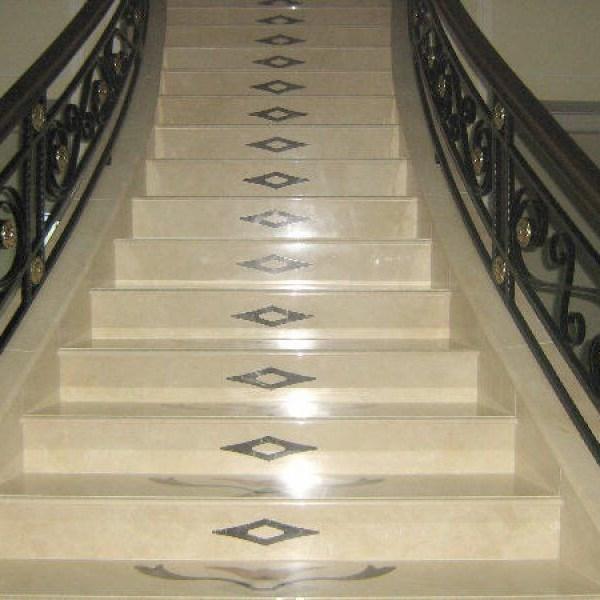 Лестница из натурального камня 4