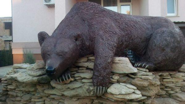 Фигура из пенопласта: Медведи