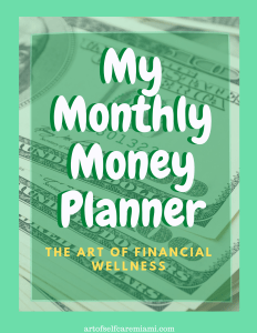 monthly money planner