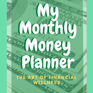 My Monthly Money 8-Page Planner Printable