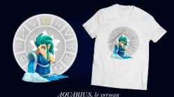 Signes du zodiaque, le verseau Aquarius