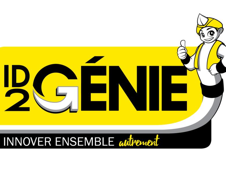 Logo et mascotte ID2Génie pour le groupe GCC