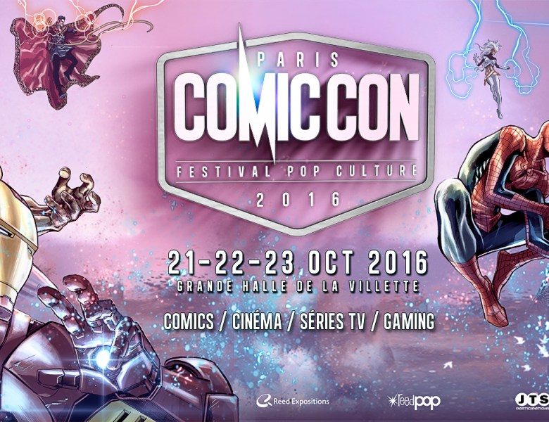 Comic Con Paris, le festival pop culture de retour pour 2016