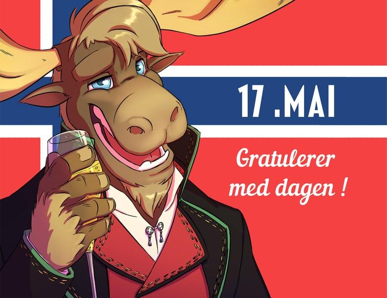 Fête nationale en Norvège: 17 Mai