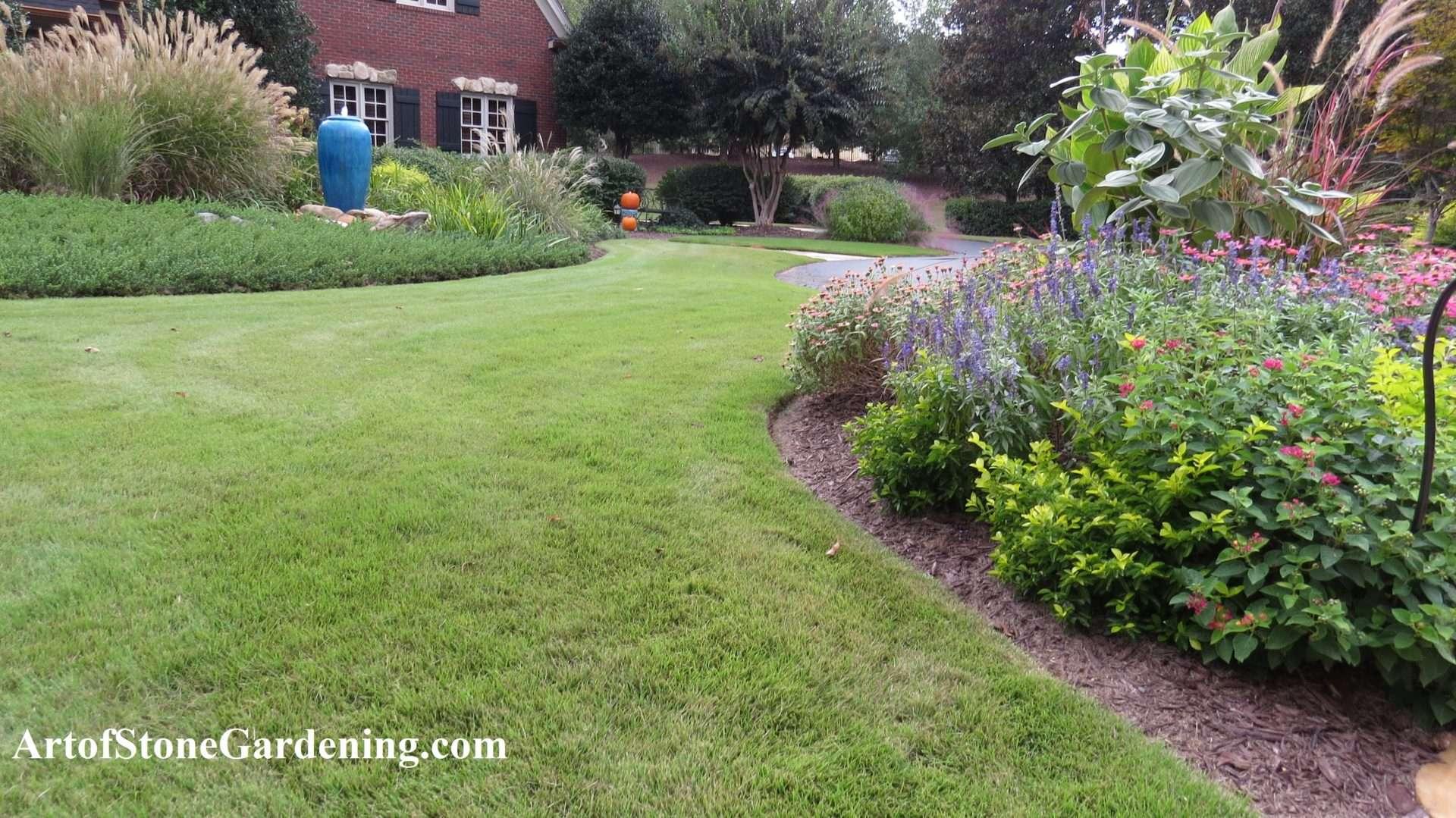 Creating An Edgy Garden Art Of Stone Gardening