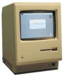 We took six of these Apple SE 20 Macintosh computers and installed them in five Russian schools.  Remember the floppy disc?  How about a HD of 20 MB!