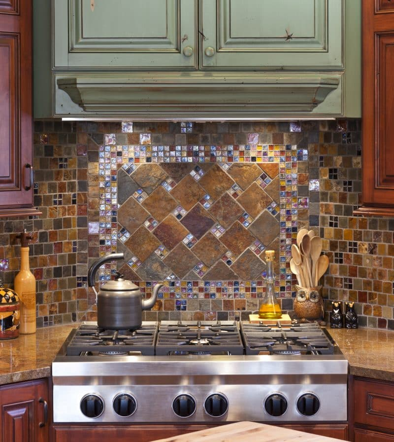 7 Beautiful Tile Kitchen Backsplash Ideas • Art of the Home on Countertops Backsplash Ideas  id=43611