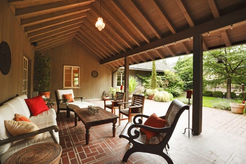 7 Gorgeous Covered Patio Ideas to Enjoy the Outdoors Rain ... on Outdoor Deck Patio Ideas id=55232