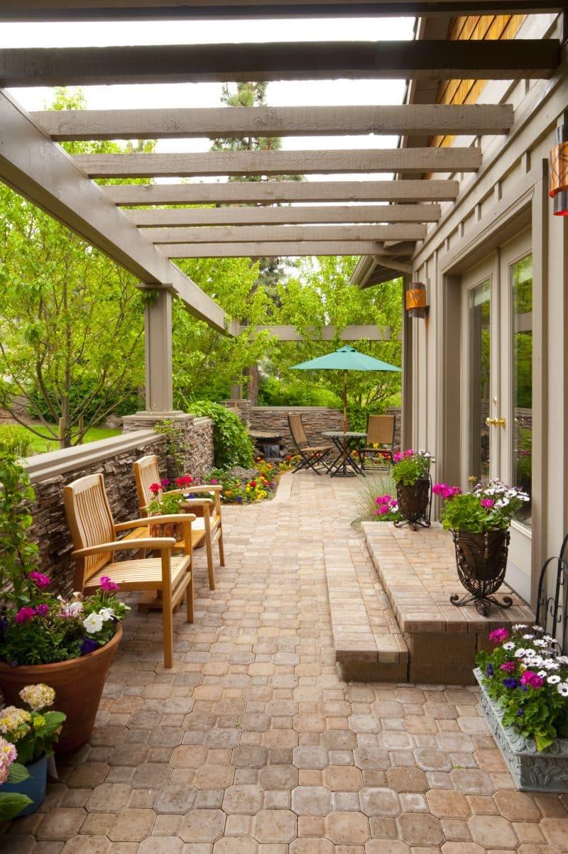 Beautiful Backyard Pergola Ideas • Art of the Home on Covered Pergola Ideas  id=43791