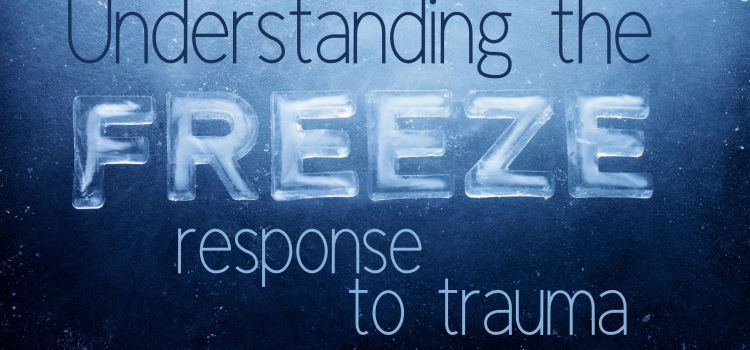 Freeze response to trauma