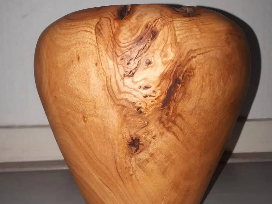 From Firewood to Cherry Vase