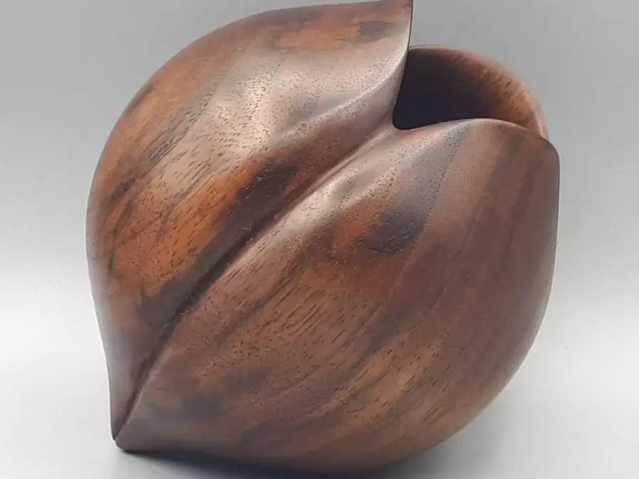 American Black Walnut Hollow Form