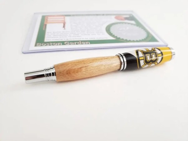 Boston Garden Wood Pen Gift for Bruins Fans