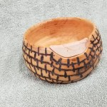 Fixing a blow out on a cherry wood turned bowl