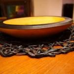 Wood turned bowl by UOSiO dirbtuvės