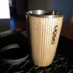 Wood turned cup by UOSiO dirbtuvės