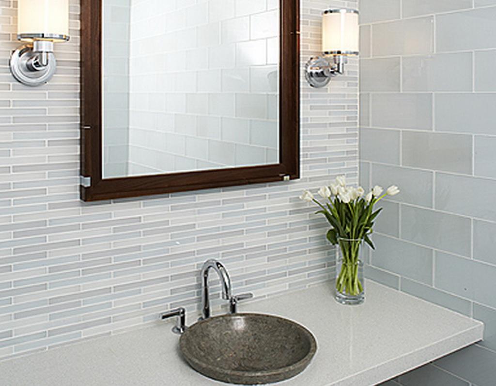 Best Kitchen Gallery: Metal Glass Wall Tiles Backsplashes Mosaic Tile of Bathroom Wall Tile Ideas on rachelxblog.com