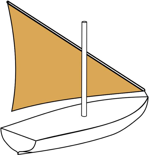 Figure 50 Lateen Sail