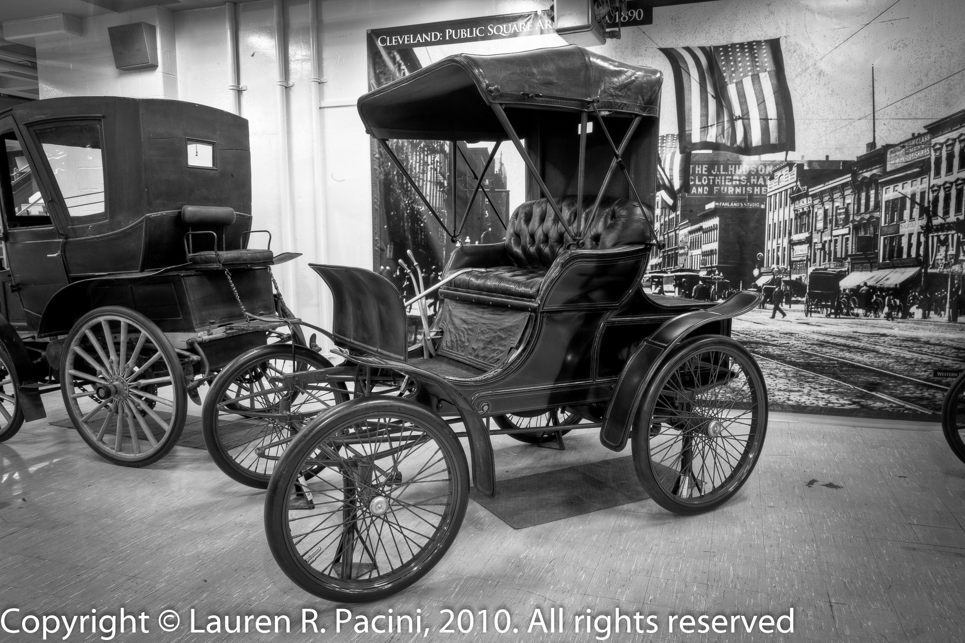 Winton motor carriage company artography studios and press for Car carriage