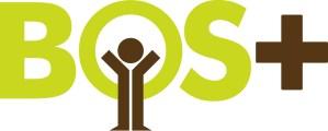 Het logo van de vzw Bos+.