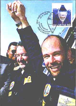 B. Piccard and B. Jones. Cancelled the 3/24/1999 at Château-d'Oex